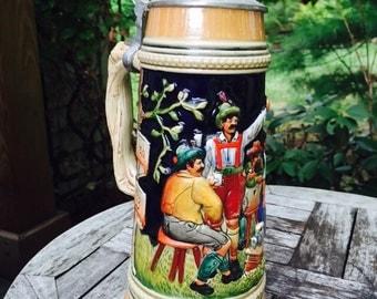 Vintage German/ Bavarian Beer Stain /Beer Mug