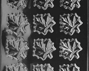 Maple Leaves Chocolate Mold - F078