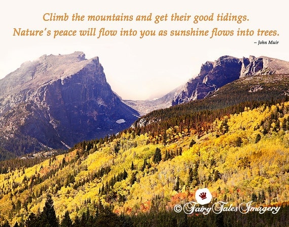 John Muir Colorado Landscape Photography Estes Park Mountain