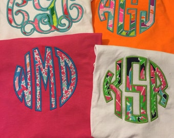 Lilly Pulitzer Monogram Tee