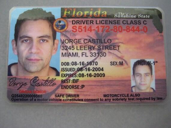 Dexter Jorge Castillo Driver's License Prop