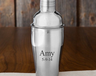 Personalized Margarita/Cocktail Shaker