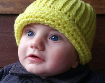Vintage Rail Style Knitted Beanie