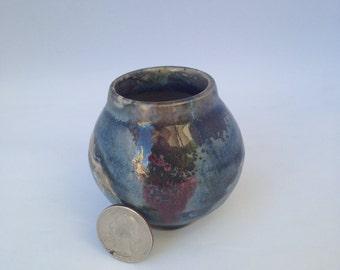 Tiny Ceramic Vase, Handmade Ceramic Vase (Free Shipping in US)