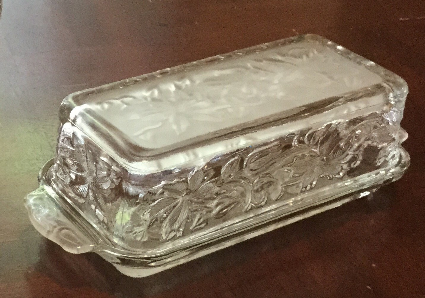 Princess house fantasia butter dish for Princess housse