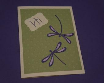 Dragonfly Card just to say Hi
