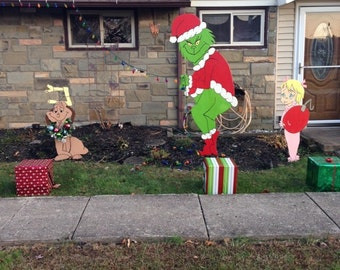 Christmas decorations.! How the Grinch stole Christmas