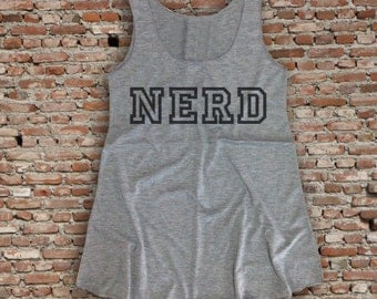 Nerd Tank Top, Bride Tank, Bride Shirt, Bride Gift, Wedding Gift, Engagement Gift, Anniversary Gift, Workout Tank Top, Size S-L