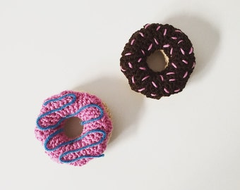 Crocheted Donuts