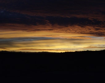 Digital Download Photography New mexico Sunset