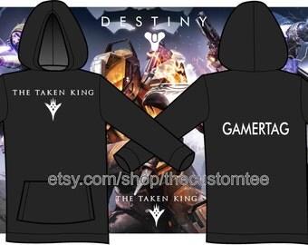 Destiny The Taken King Hoodie w/ CUSTOM PRINT