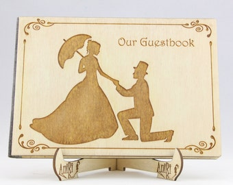 Vintage Guest Book, Shabby Chic Guest Book, Old Style Guest Book, Retro Guest Book, Rustic Wedding, Vintage Wedding, Shabby Chic Wedding