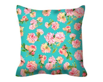 shabby chic pillow rose pillow shabby chic decor girl pillow teen girl pillow kids pillow accent cushion flower pillow teen girl gift