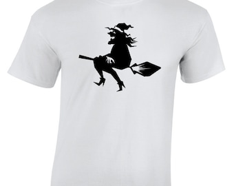 Halloween Witch T-Shirt perfect for the Holiday season, Trick or Treat or just Family Fun Days and Nights