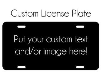 Custom Plate Cover