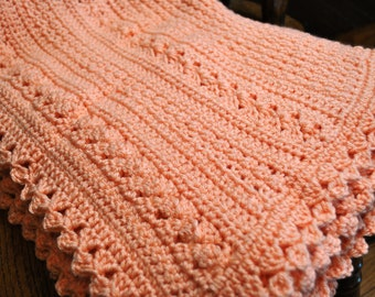 Hand Crochet Extra Large Baby Blanket