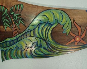 Just add a surf board