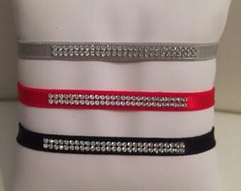 French Elastic Swarovski Bacelet