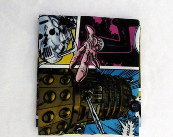 Fat Quarter, Dr. Who Comic Fabric Package 228