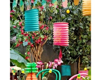 Tropical Fiesta Lanterns
