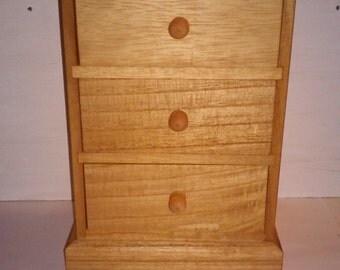 Wooden Box, Jewlery Holder, Accessories, Girls Jewlery Holder