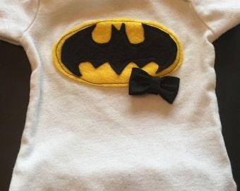 Baby Girl Batman Onesie