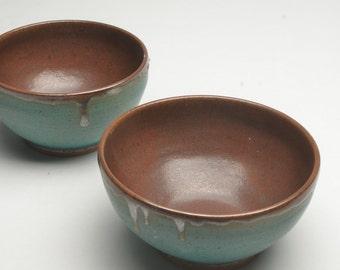 SpeckledTurquoise Prep Bowl