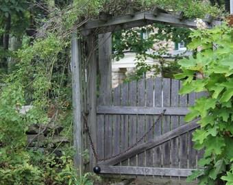 Primitive Garden Gate