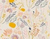 KNIT Fabric: Art Gallery Wispy Daybreak Aura Cotton Lycra Knit Fabric. Sold by the 1/2 Yard