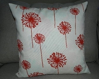 7 Sizes Available - Premier Dandelion on ivory Indoor/Outdoor Pillow Cover
