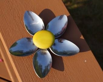 Repurposed Flower Magnets