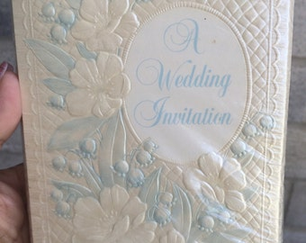 Vintage Paramount Formal Wedding Invitations