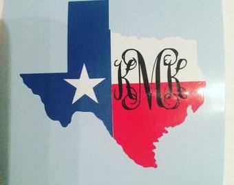 State of Texas Monogram