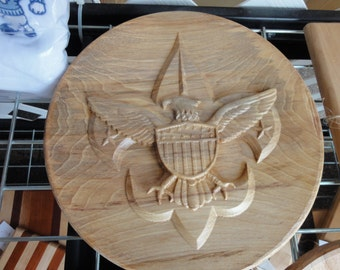 Boy Scouts of America 11-12in 3D Plaque