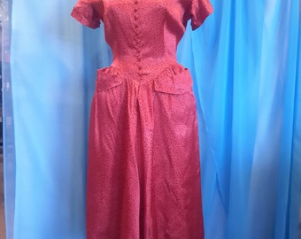 1950's Jonathan Logan shirtwaist dress.