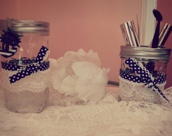 Decorative jars---> BALL MASON JAR