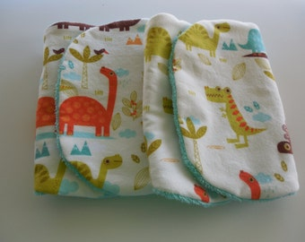 SALE! Baby Burp Cloths-Set of Two-Super Soft and Absorbent