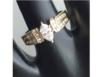 Vintage Engagement Ring 1/2 Carat TW 14k gold