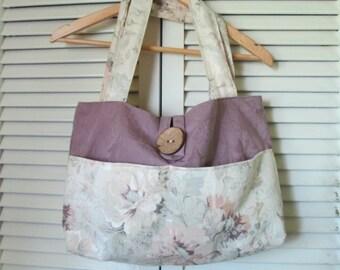 Upcycled  Carpet Bag Boho Gypsy Recycled Handbag/Shoulder Bag