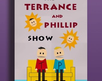 South Park Eric Cartman's Room Terrance and Phillip Instant Download Printable Art