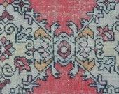 runner rug faded rug distressed rug anatolian runner flatwoven rug wool rug turkish rug runner floor rug