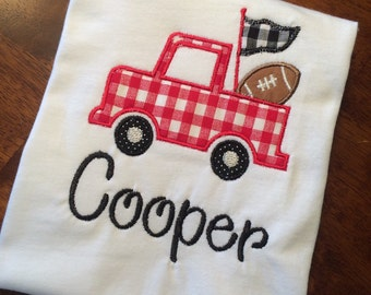 Boys Georgia Truck Shirt