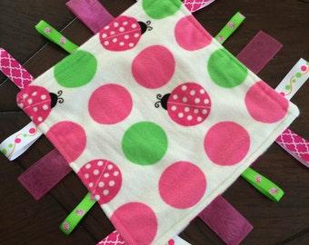 Ladybug Sensory Blanket