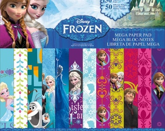25% OFF - Disney's Frozen Mega Scrapbook Paper Pad 150 Sheets