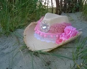 Pink Ibiza Hat