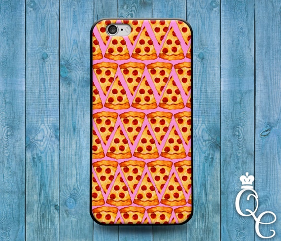 iPhone 4 4s 5 5s 5c SE 6 6s 7 plus iPod Touch 4th 5th 6th Gen Cover Funny Pink Pizza Slice Phone Case Cute Food Foodie Fun Creative Cool 420
