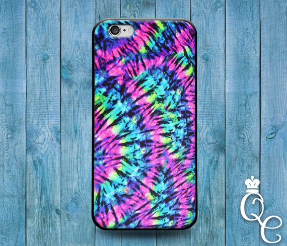 iPhone 4 4s 5 5s 5c SE 6 6s 7 plus iPod Touch 4th 5th 6th Gen Cool Tye Dye Tie Dying Cute Phone Case Girly Pink Purple Green Unique Cover