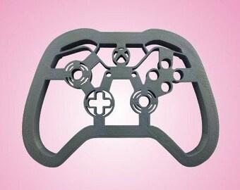 Microsoft Xbox video game controller plastic cookie cutter