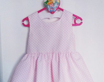 (2 years) girl dress with heart in back