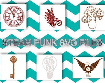 Steam Punk Svg Files!